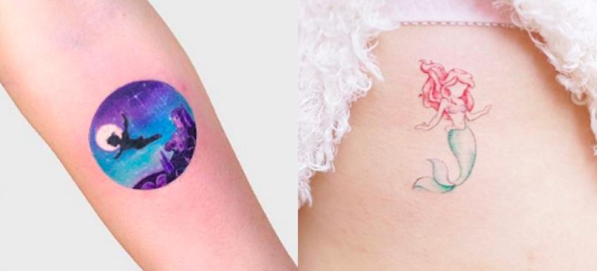 Les tatouages les plus mignons inspirés de nos personnages Disney préférés !