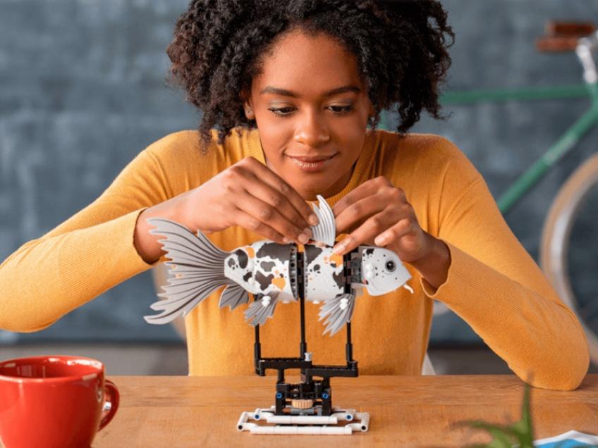 LEGO nous aide à lutter contre le stress avec un nouveau jeu de construction pour adultes