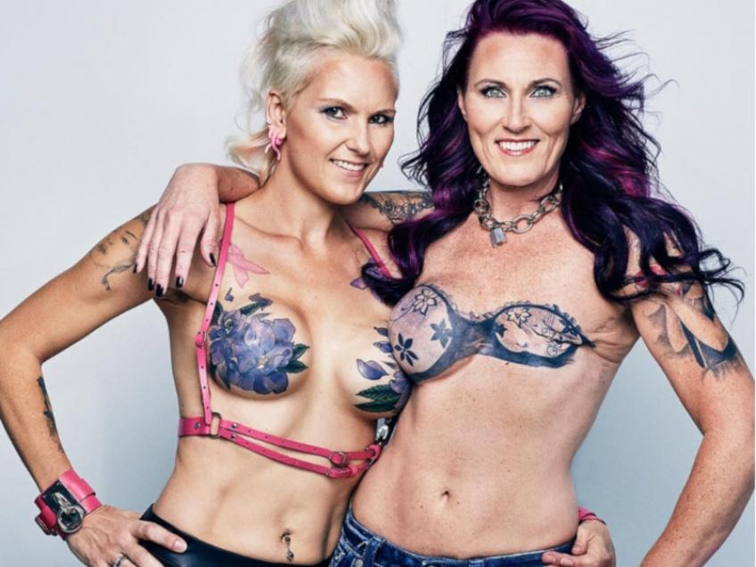 De magnifiques tatouages pour se reconstruire après une mastectomie