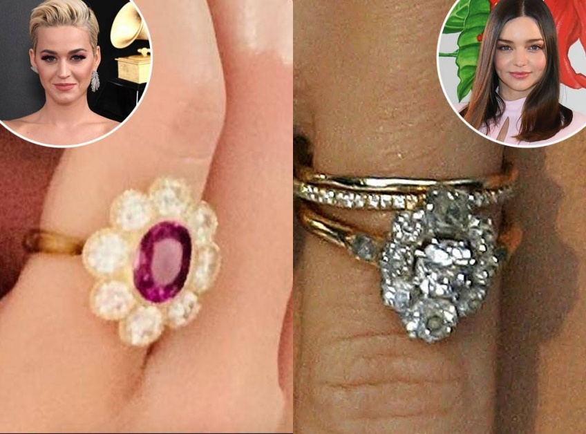 orlando bloom katy perry bague de fiançailles