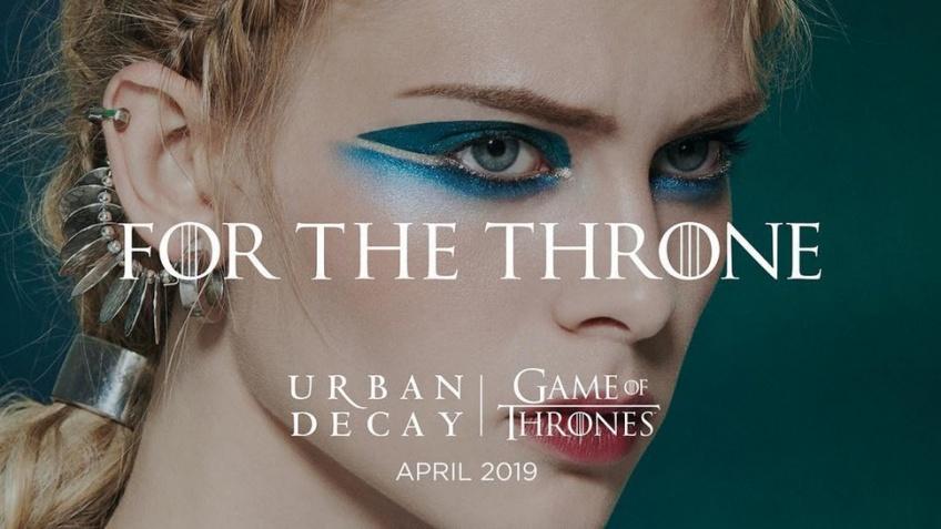 Urban Decay annonce la sortie d'une nouvelle collab avec Game Of Thrones !