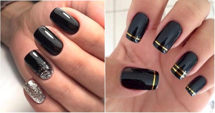 Les différentes façons d'apporter du style et du pep's à un vernis noir !