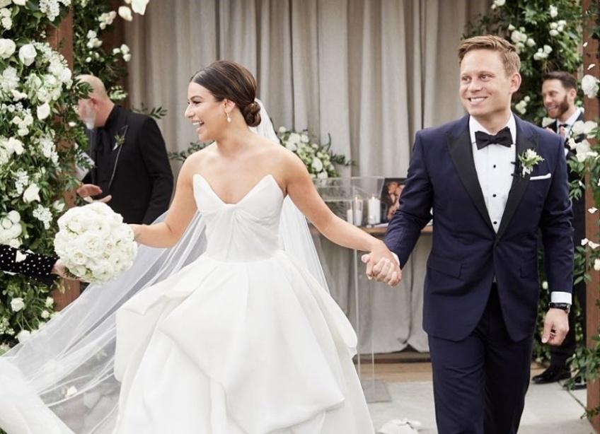 léa michele glee mariage