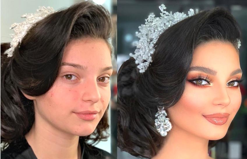 Ce make-up artist partage des photos avant/après de mariées lors du grand jour !