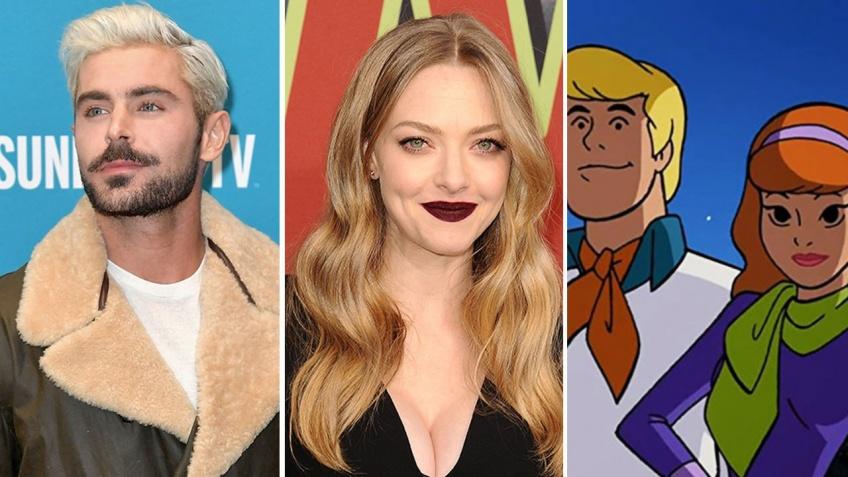 Scooby-doo nouveau film zac efron et Amanda Seyfried voix
