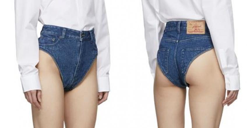 Tendance WTF : Ces culottes en jean à 280€ enflamment la toile