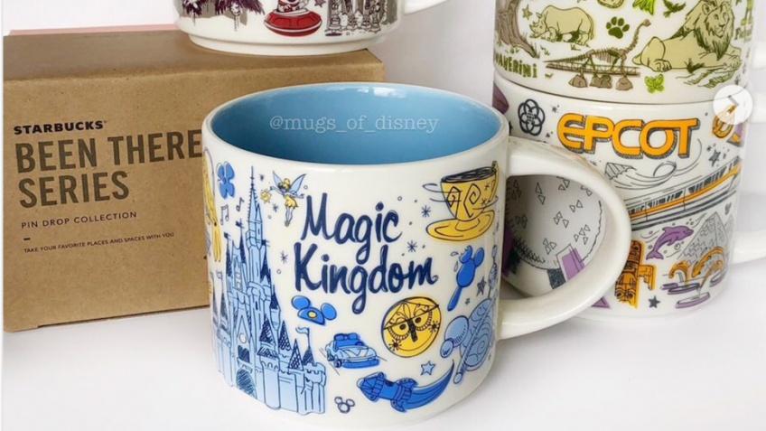 starbucks mugs disney