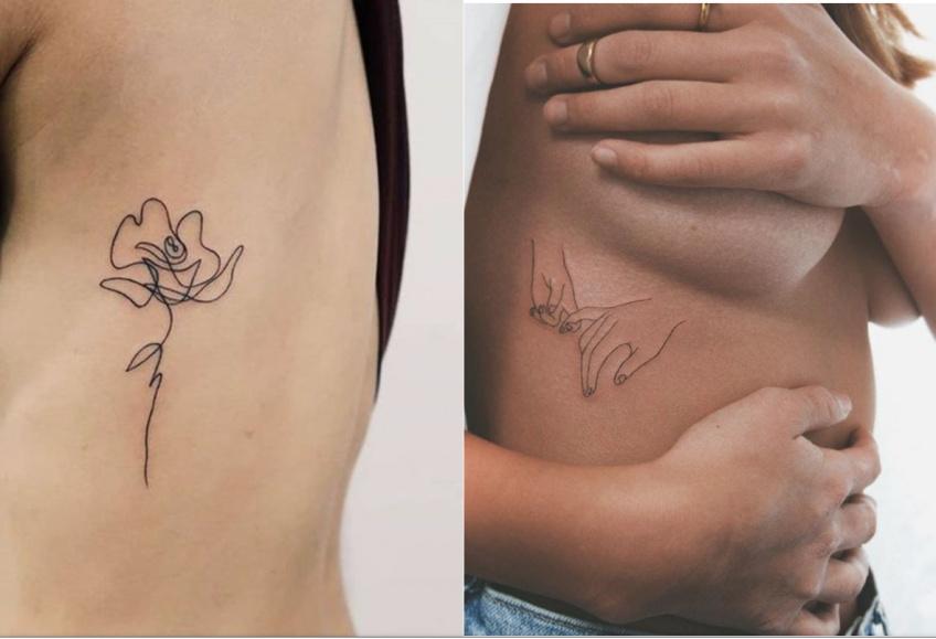 Les tatouages sur les côtes qui vont vous rendre irrésistible !