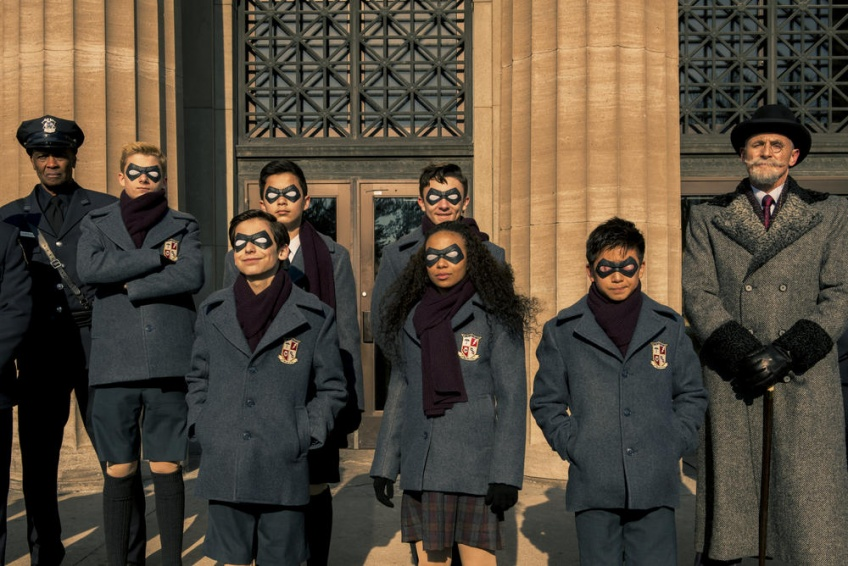 'The umbrella Academy' netflix série saison 2
