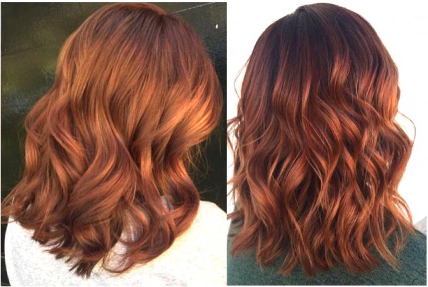 Le retour de la coloration auburn qui va réchauffer votre teint cette saison !