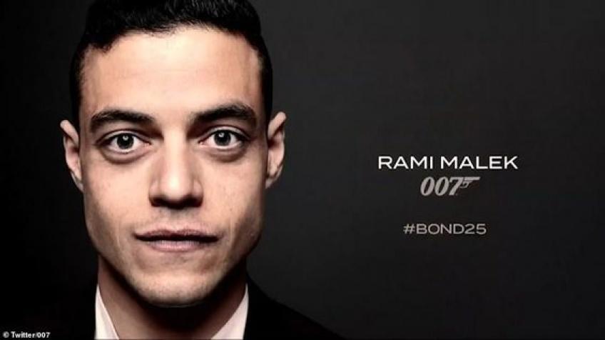 C'est officiel : Rami Malek, grand gagnant aux Oscars, sera dans le prochain James Bond !
