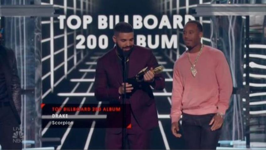 Drake aux Billboard Awards