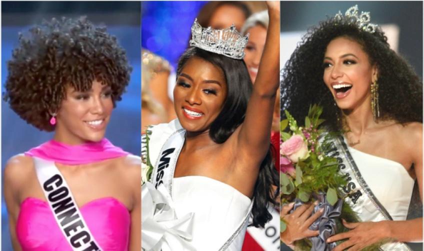 Pour la première fois, Miss America, Miss Teen USA et Miss Usa sont toutes des femmes noires !