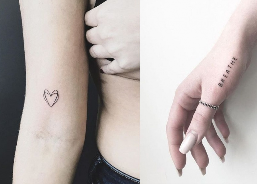 Mini-tatouages : la sélection pour celles qui veulent enfin franchir le pas !