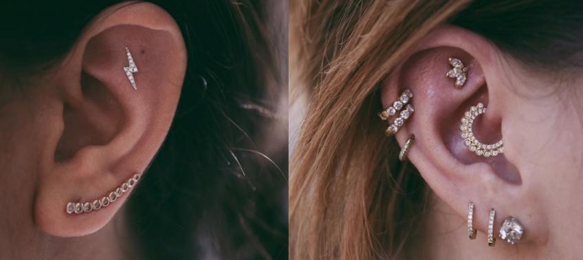 Piercing : les inspirations les plus canon pour les oreilles !