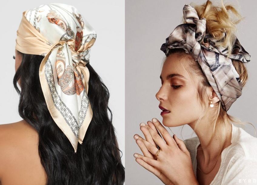 Headband et foulard : les accessoires cheveux qui vont vous rendre parfaite ce printemps !