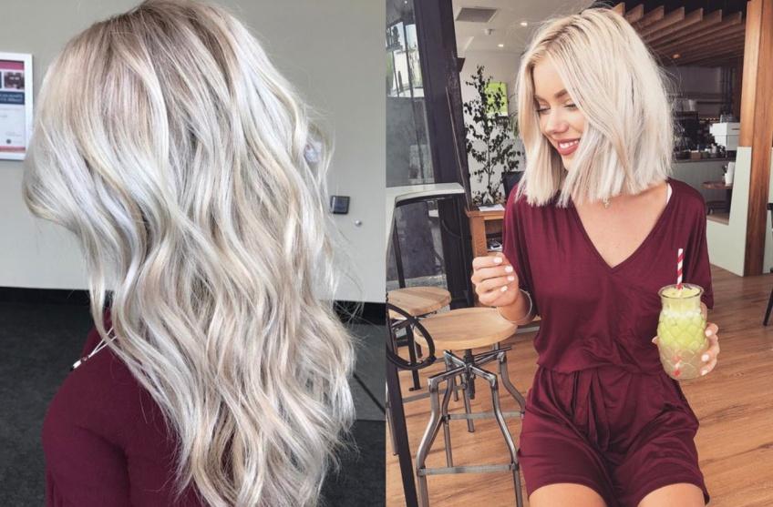 Blond Polaire : la coloration qui cartonne sur Pinterest !