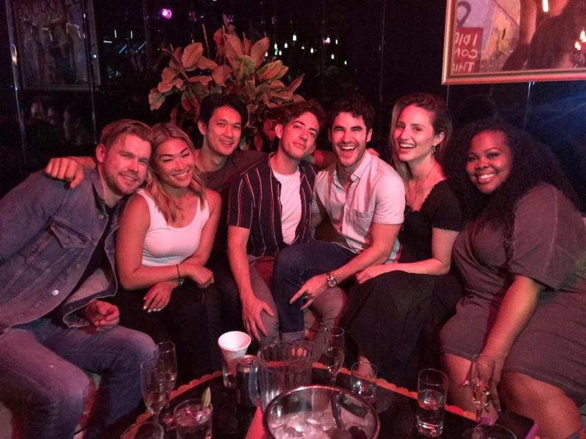 Les stars de Glee se sont retrouvées pour chanter ensemble 'Shallow' de Lady Gaga et Bradley Cooper