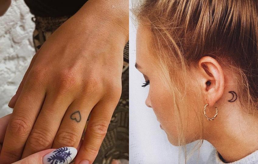 Ces tatouages si discrets qu'on ne les remarque même pas !