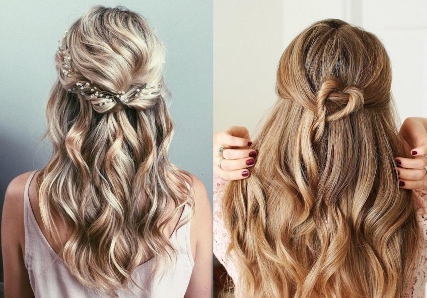 Half Up Hair : la coiffure de mariage la plus chic et bohème qui va vous faire totalement craquer !
