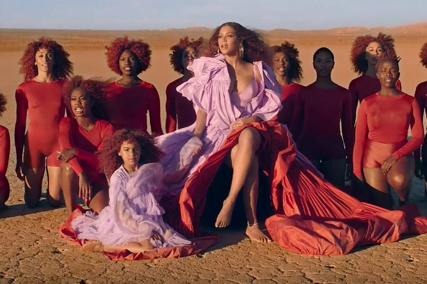 La fille de Beyoncé, Blue Ivy, vole la vedette à Queen B sur son nouvel album 'The Lion King : A Gif'