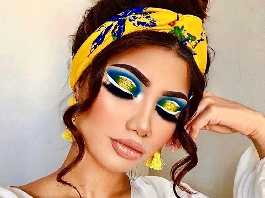 make up flashy