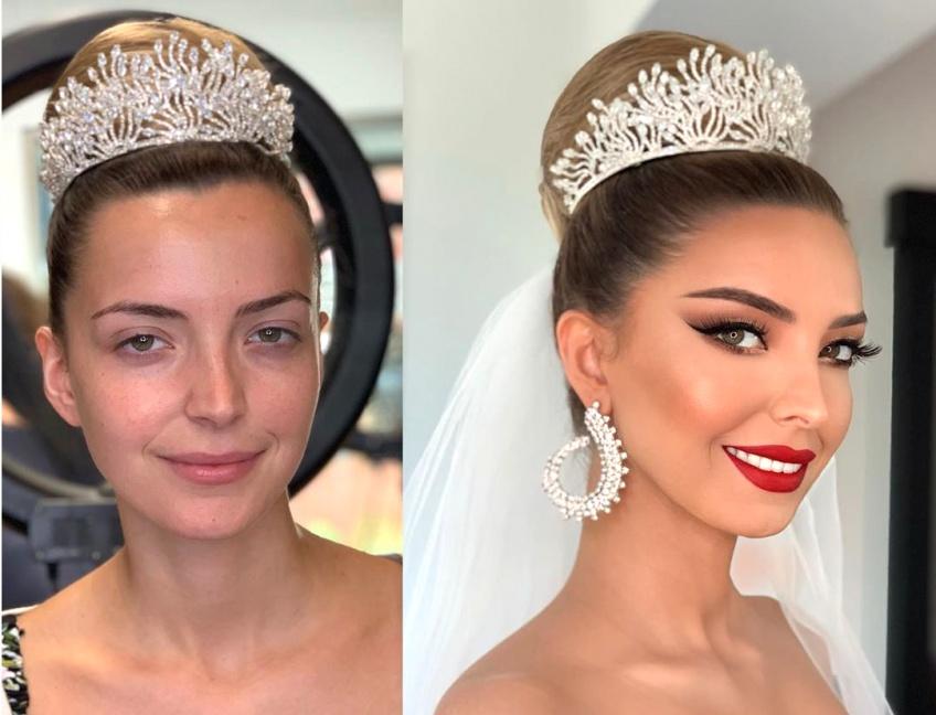 Ces transformations make-up de mariées resplendissantes de beauté vont vous couper le souffle !