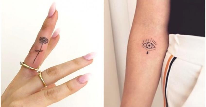 25 idées de tiny tattoos pour sauter le pas du premier tatouage !