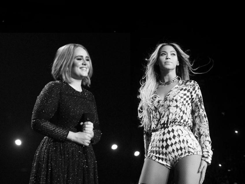 Adele et Beyoncé ont enregistré une chanson ensemble !