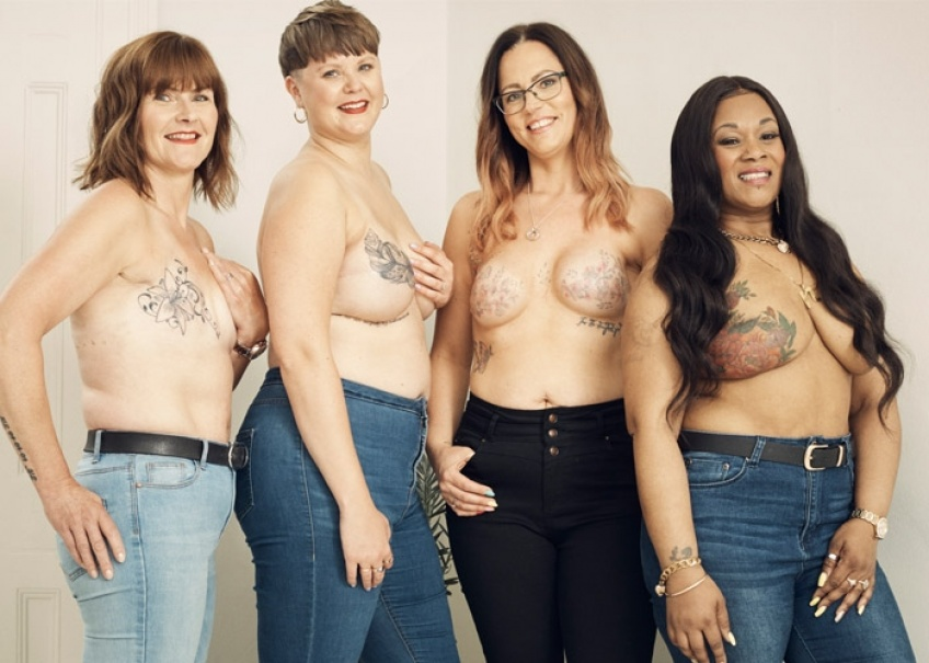 Octobre Rose : Ces tatouages post-mastectomie pour se reconstruire !