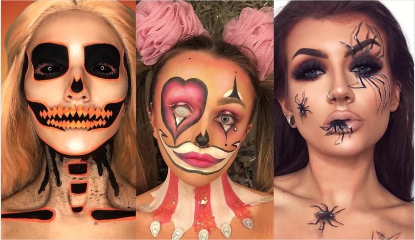 Les meilleurs make-up d'Halloween repérés sur Instagram !