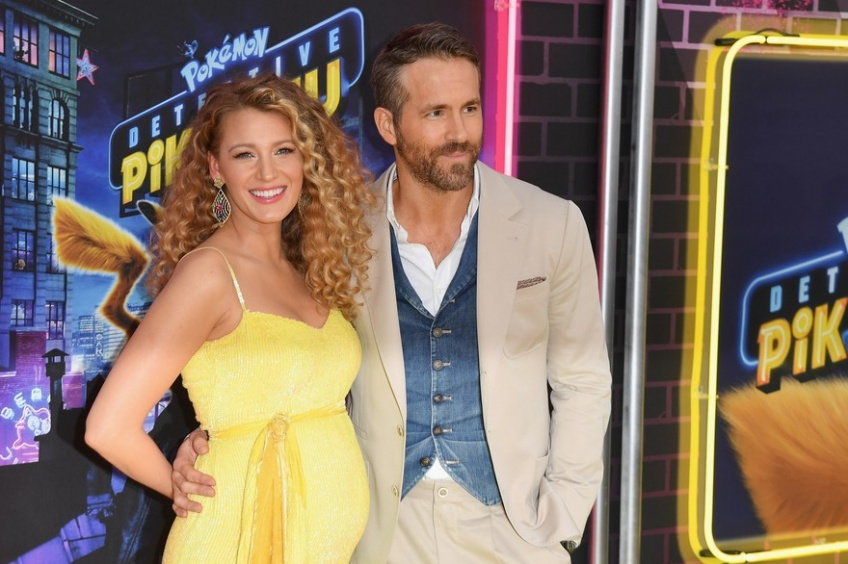ryan reynolds blake lively bébé