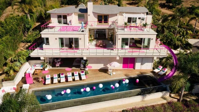 maison de barbie airbnb malibu