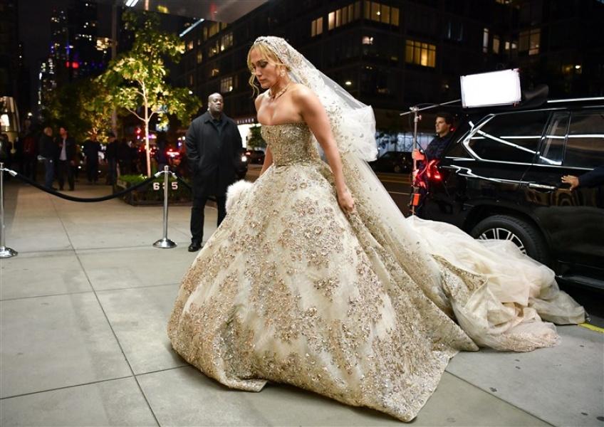 Jennifer Lopez robe de mariée