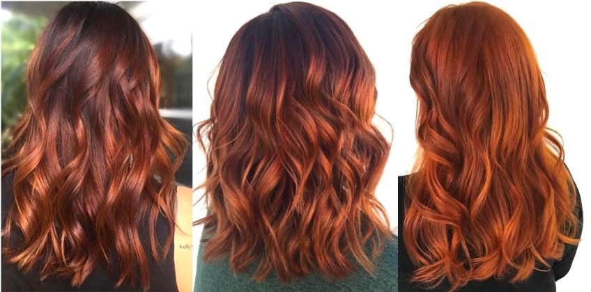 Les inspirations de cheveux auburn qui vont illuminer votre teint cet hiver !