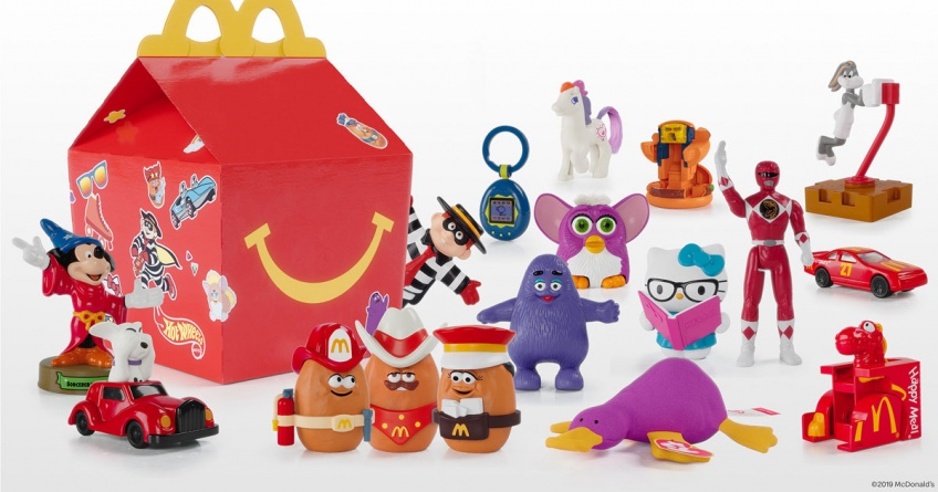 40 ans happy meal jouets
