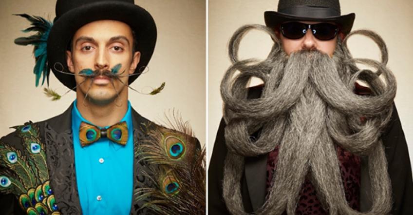 Championnat de barbes et moustaches : les plus beaux clichés !