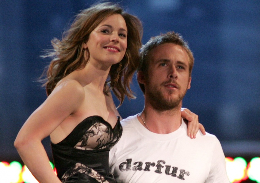 Amour de Stars : Ryan Gosling et Rachel McAdams