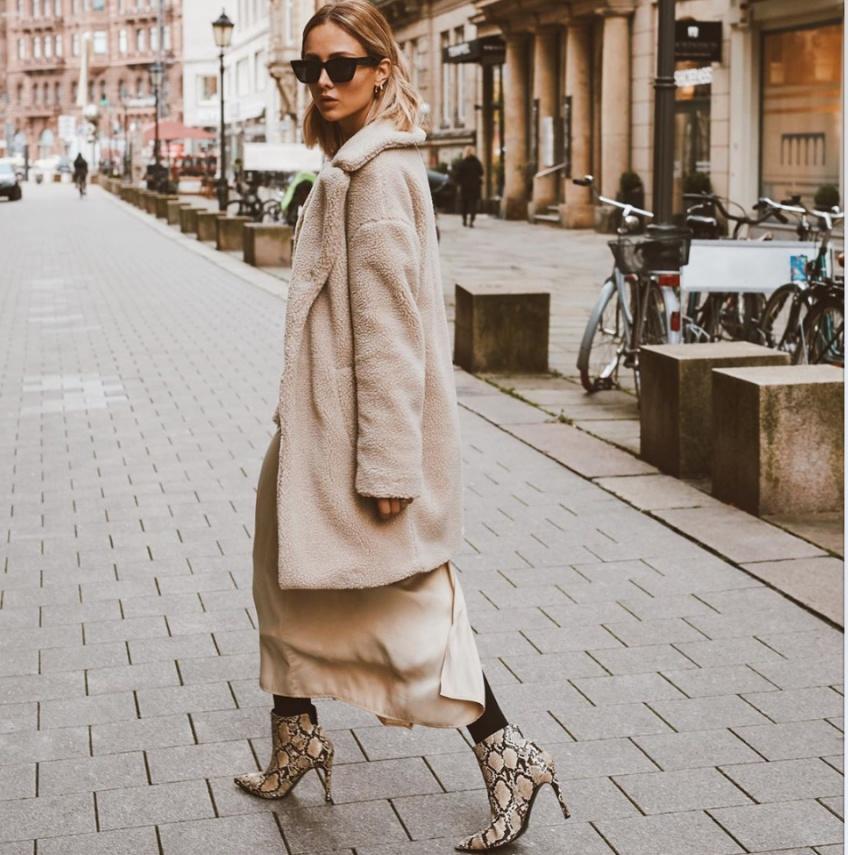 5 looks Instagram robe hiver