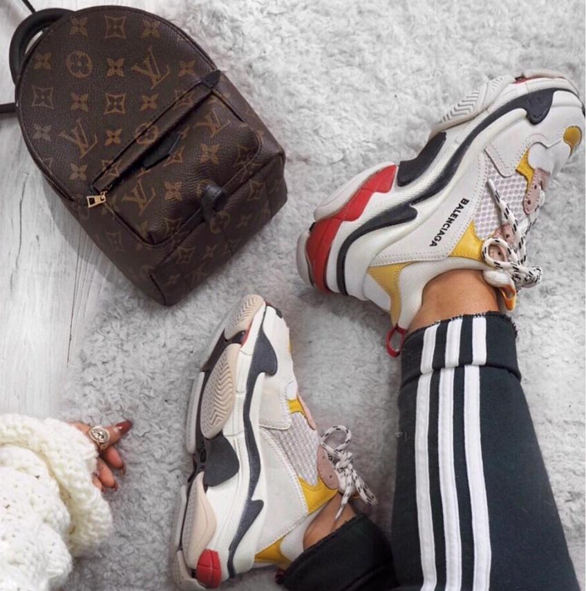 chaussures soldées à shopper