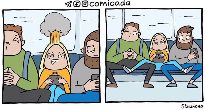 illustrations quotidien drôles
