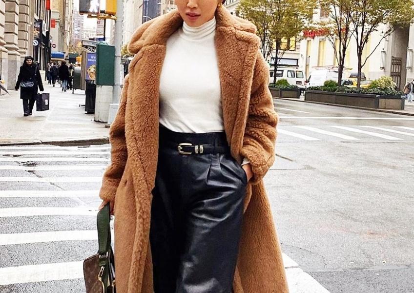 pantalon similicuir tendance hiver