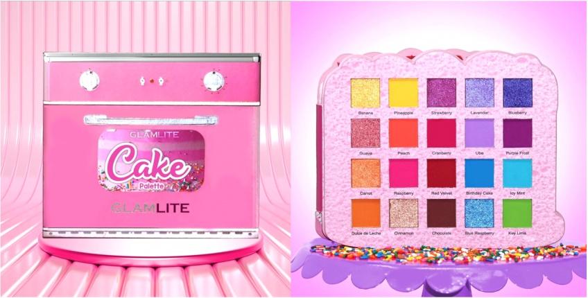 Glamlite lance une palette en forme de gâteau pour les plus gourmandes !