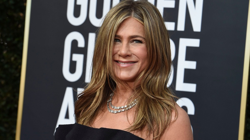 Jennifer Aniston réactions Golden Globes 2020 Brad Pitt