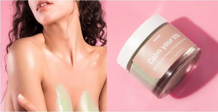 'Calm your tits', le masque beauté pour des seins plus fermes !