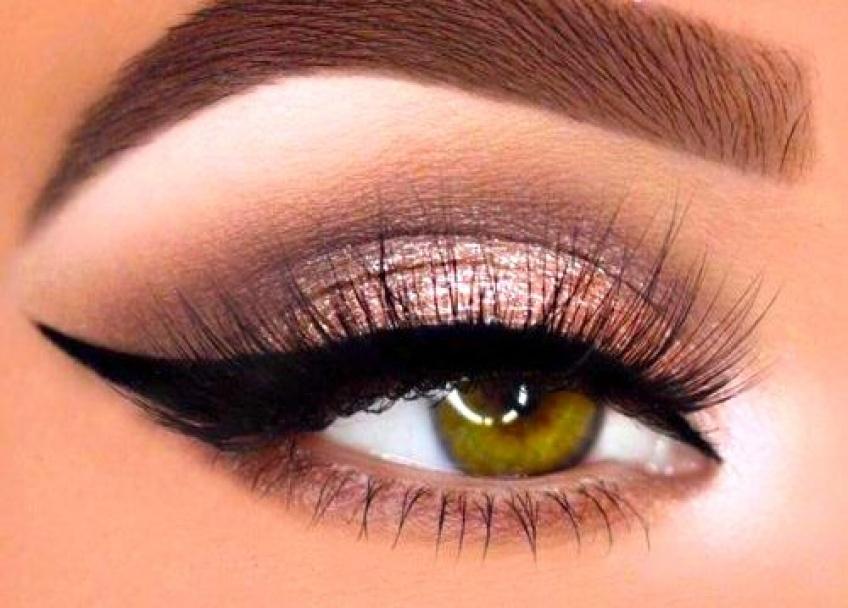 Les maquillages à copier lorsqu'on a les yeux verts !