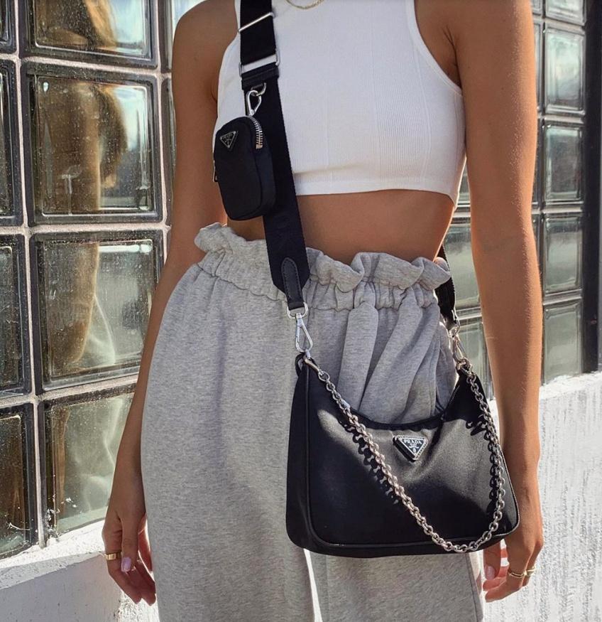 pantalon paper bag