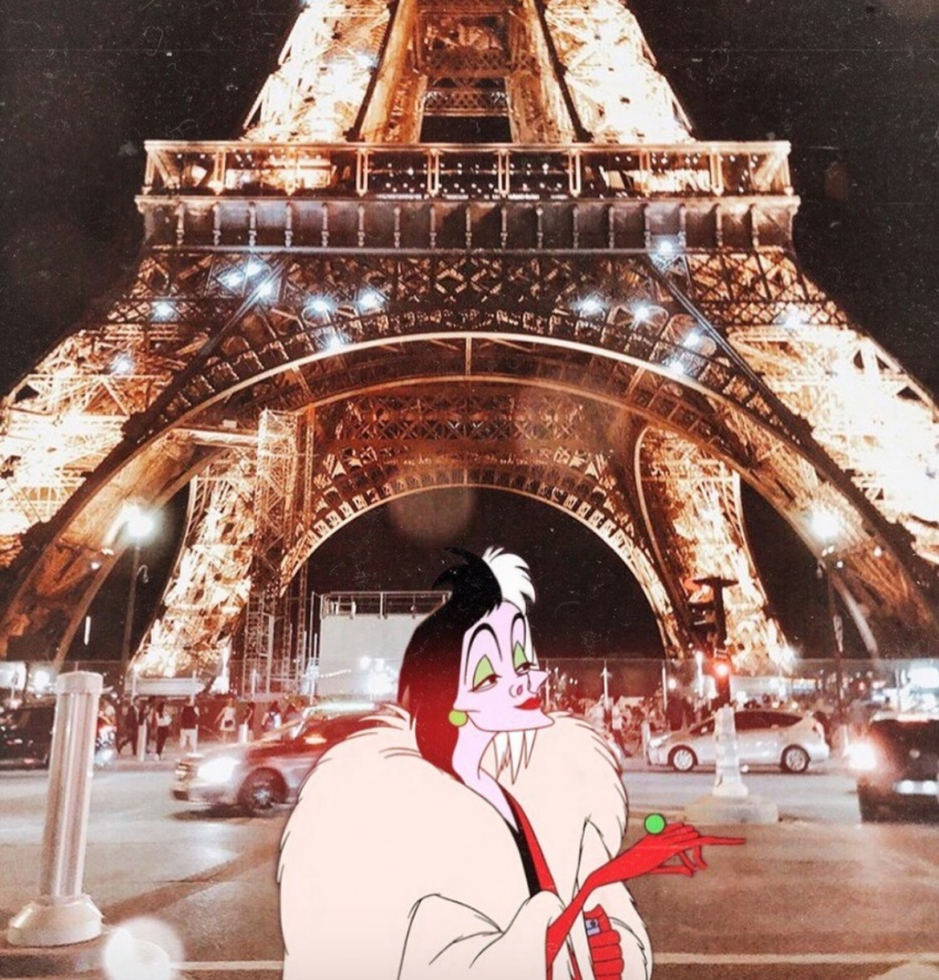 personnages Disney situations vraie vie
