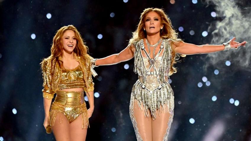Jennifer Lopez fille Emme Super Bowl performance