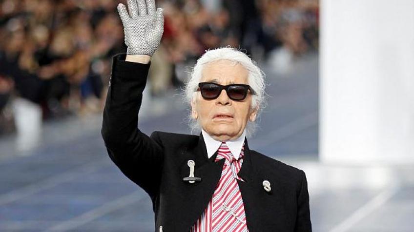 exposition hommage Karl Lagerfeld Salon du Vintage